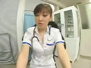 Japanese nurse fondled by a ninja
