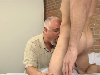 Leo giamani's big dick into his mouth and throat as he can fit