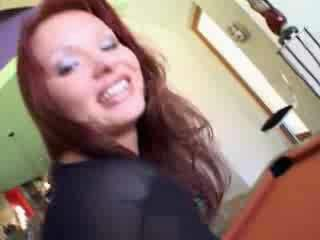 Anal Creampie Redhead