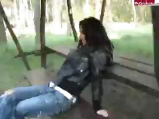 German Sex In Forest
