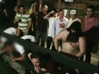 College Boys Locked Up & Fucked In Basement By Masked Man