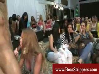 Cfnm with teddybear stripper blowjobs