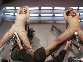 Isis Love and Lorelei Lee get tied and toyed after 69