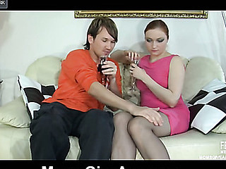 Horny mommy teases a guy with her firm wazoo during the time that aching for hard butt play