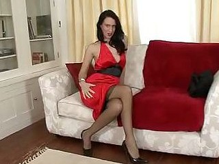 Tammy Lee - Stocking tease and please!