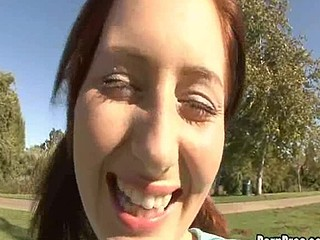 Cameron has at no time really played croquet but this babe knows how to handle those balls! At solely eighteen this babe plays really well when this babe has a jock in her mouth and a finger stroking her adorable juvenile pussy!! Her cute bubbly personality makes this game so much fucking fun!!