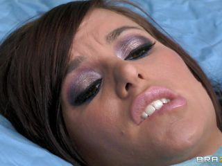 Gia DiMarco is sick. Her nurse Johnny Sins takes care of her by giving her a soapy bath. He lathers up her round tits with soap making them nice and clean. This is tit sucking at it's finest. He ends up in the tub, too.