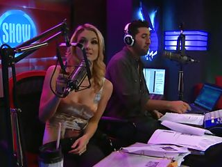 Sex show is a fun game show which becomes very interesting when the stripping parts comes. Here an interview with a hot blonde babe is going on. This blonde babe giggling and cant stop her laughing at all. I bet you will regret if you miss the ending part of this morning show.