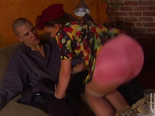 Penny Flame In Colofrul Dress Getting Her Pussy Fucked By Big Cock