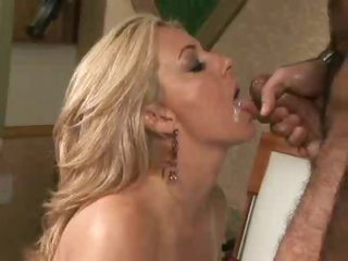 Chick looks glamorous as she gets fucked hard